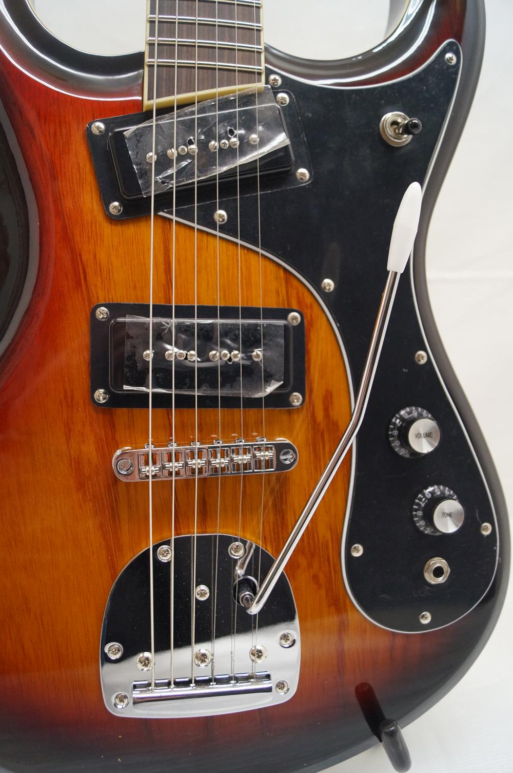 new dillion dmg 75t electric guitar w gig bag vintage features. Black Bedroom Furniture Sets. Home Design Ideas
