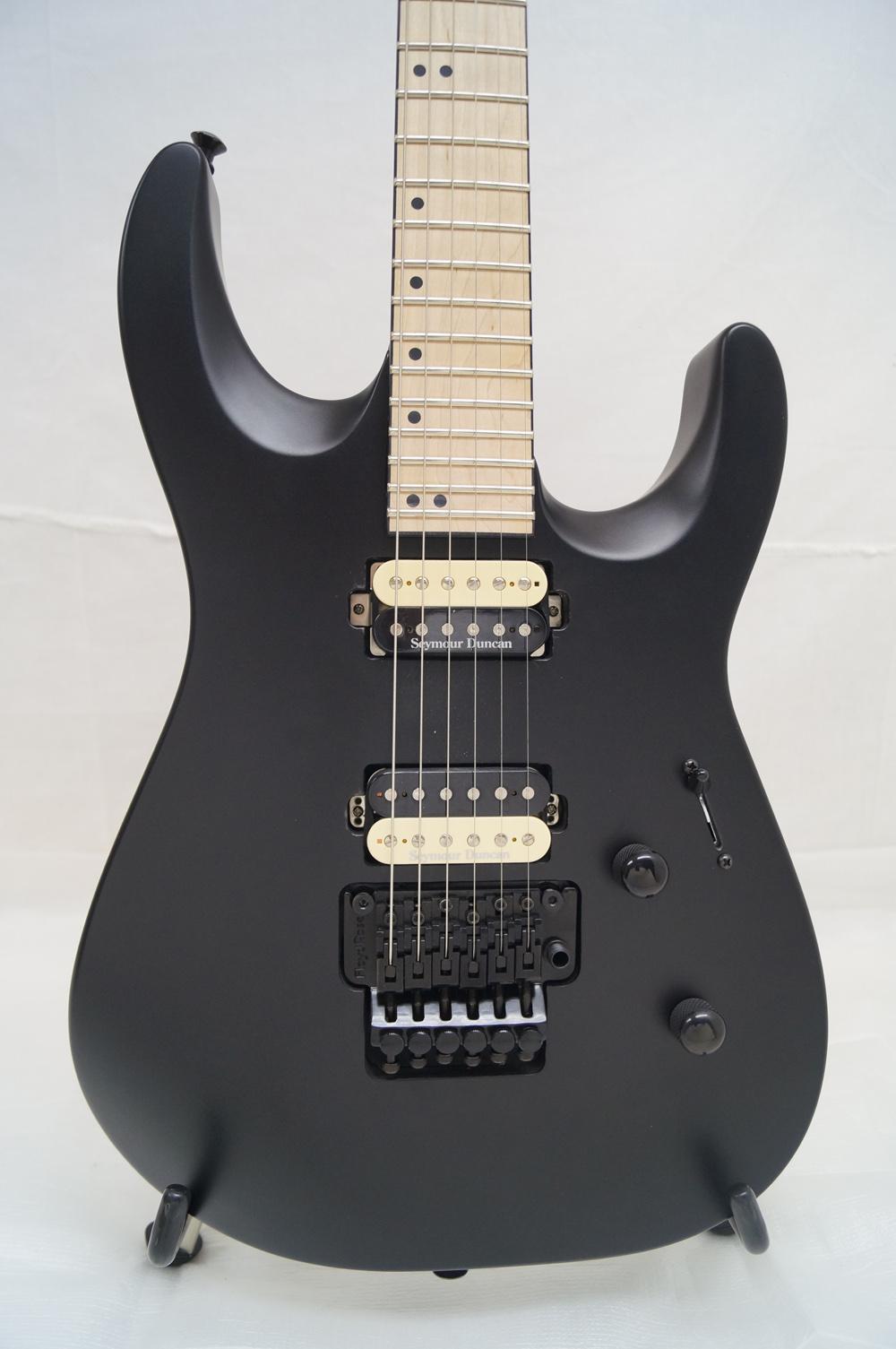 new jackson dk2m electric guitar satin black mim seymour duncan pus ebay. Black Bedroom Furniture Sets. Home Design Ideas